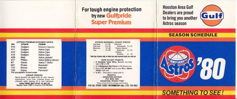 Astros_Schedule_1980_front