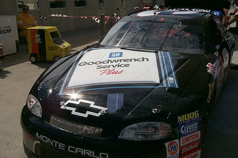 Today's Classic Paint Schemes takes a look back at the Brickyard 400 in 1999