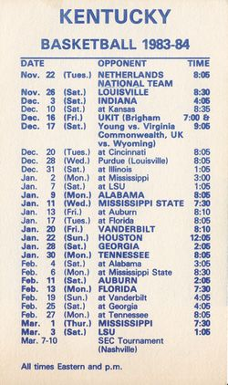 Kentucky_schedules_1983-84_back