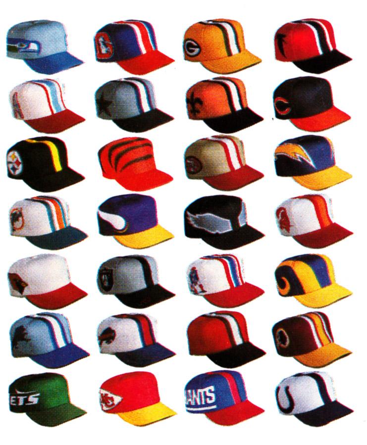 Sports Design Blog  Old School Design  The NFL Helmet Hat d304c6116d5