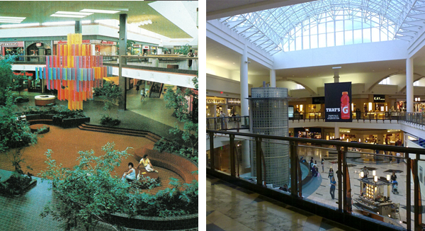 Florence Mall then and now