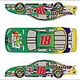 NASCAR Paint Scheme Design Bobby Labonte