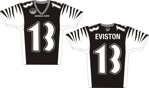 Cincinnati Jungle Kats Jersey Design