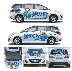 Kentucky Shop Van Design Layout