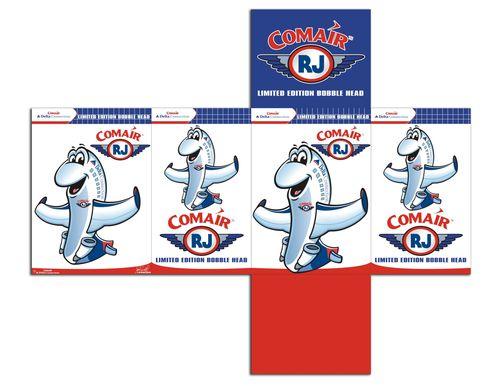 Comair RJ Bobble Head Packaging Design