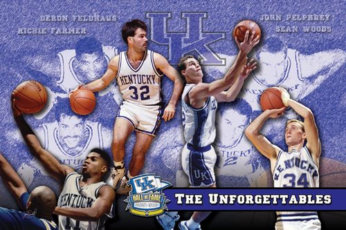 2007 UK Hall of Fame Unforgettables Print