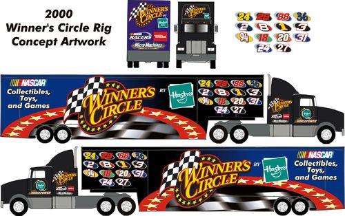 Hasbro Winner's Circle Interactive NASCAR Rig Design